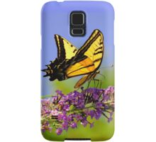 Two-tailed Swallowtail Butterfly Samsung Galaxy Case/Skin
