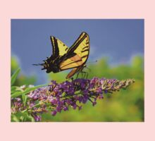 Two-tailed Swallowtail Butterfly One Piece - Long Sleeve