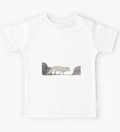 Arctic Fox - Alphabetical Animals Kids Tee