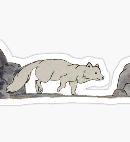 Arctic Fox - Alphabetical Animals Sticker