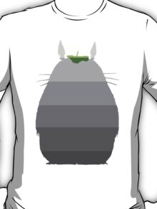 Leaf it to Totoro (linen white) T-Shirt