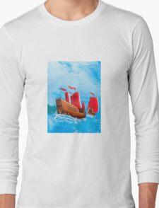 Chinese Ships Long Sleeve T-Shirt