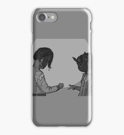 Rock, paper, scissors, HACK iPhone Case/Skin