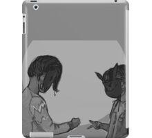 Rock, paper, scissors, HACK iPad Case/Skin