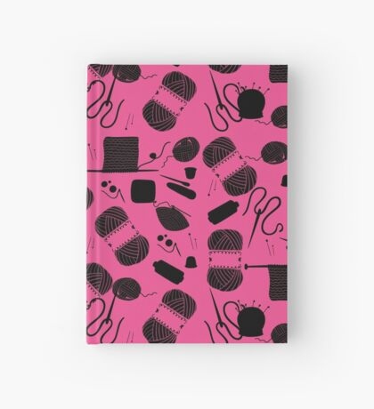 Yarn Pink Hardcover Journal
