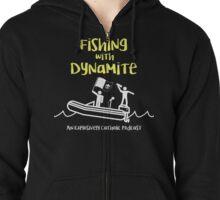 Fishing with Dynamite Classic Logo Zipped Hoodie