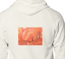 Ancient Boab Trees Zipped Hoodie