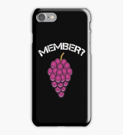 MEMBER T-SHIRTS iPhone Case/Skin