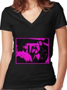 BITTER MOON (POLANSKI) Women's Fitted V-Neck T-Shirt