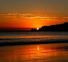 Sunrise Byron Bay by Brent Randall