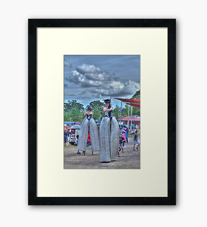 Cool Legs Framed Print