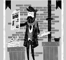 Paperman by bykai