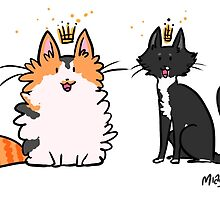 Princess Kitties by miaouler