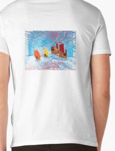 Chinese Ships on the South China Sea Mens V-Neck T-Shirt