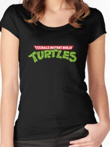 Teenage mutant ninja turtles! Women's Fitted Scoop T-Shirt