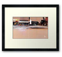 Cityscape 3 Framed Print