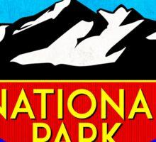 ROCKY MOUNTAIN NATIONAL PARK COLORADO HIKING CLIMBING CAMPING 2 Sticker