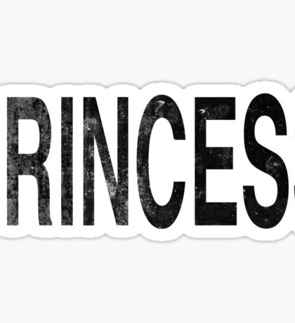 Grunge Princess Sticker
