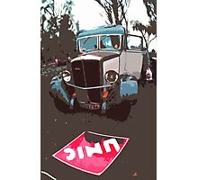 """Unique and rare 1980 Race Trucks France 1 (c) (h) """" fawn paint Picasso ! Olao-Olavia by Okaio Créations Photographic Print"""