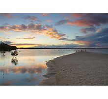 Sunset over Pumicestone Passage.  Photographic Print