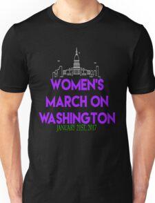 Womens March On Washington January 21 2017 The  Resistance Million Woman March #NeverTrump #NotMyPresident Inauguration  Unisex T-Shirt