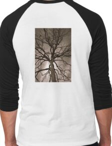 Spooky Tree Men's Baseball ¾ T-Shirt