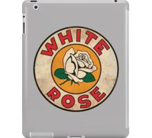 White Rose Oil And Gas iPad Case/Skin