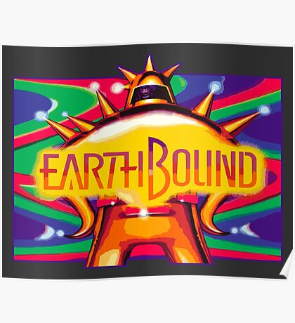 EarthBound (SNES) Poster