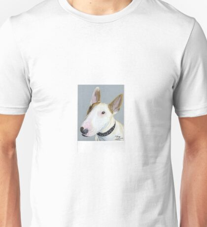 Zeke, the Bull Terrier Unisex T-Shirt