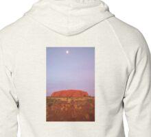 Ayers Rock  (Uluru) Zipped Hoodie