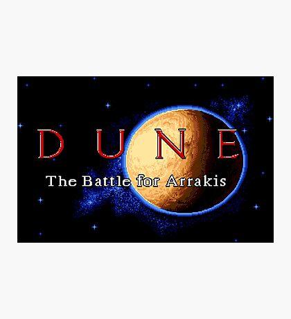 Dune 2 (Genesis Title Screen) Photographic Print