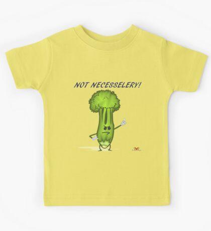 Not Necesselery! Kids Tee