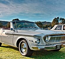 White 1962 Dodge Dart 440 by Ferenghi