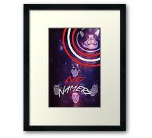 Nonamers Galaxy Framed Print