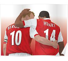 Thierry Henry & Dennis Bergkamp Poster