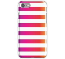 Gradient and Stripes iPhone Case/Skin