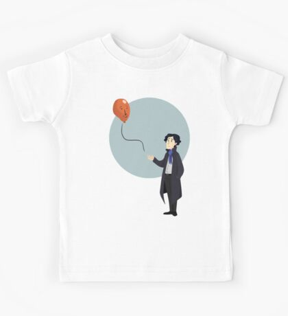 Sherlock and the John Balloon Kids Tee