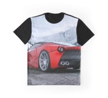 FERRARI LAFERRARI Graphic T-Shirt