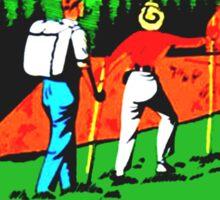 The Appalachian Trail Vintage Travel Decal Sticker