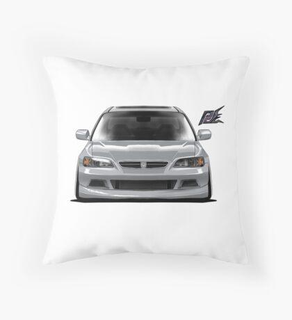 naquash design honda accord coupe v6 Throw Pillow