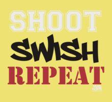 Shoot, Swish, Repeat Kids Clothes