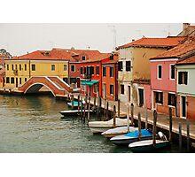 Murano Waterfront Photographic Print