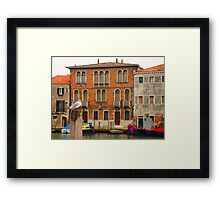 Murano Waterfront Framed Print