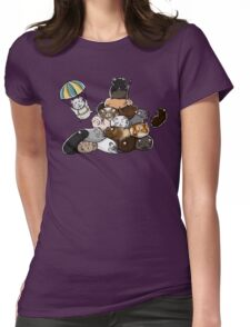 Pile of Hamsters Womens Fitted T-Shirt