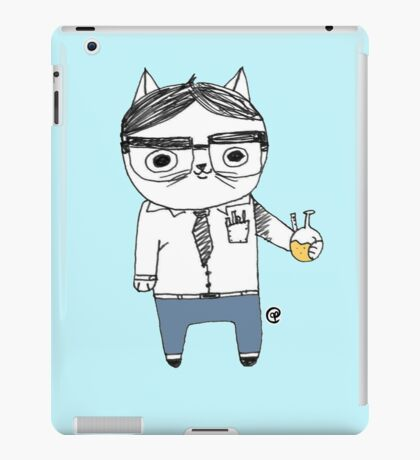 Nerdy Cat iPad Case/Skin