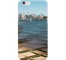 Train Tracks in the water | Greenwich Baths iPhone Case/Skin