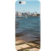 Train Tracks in the water | Greenwich Baths iPhone Case/Skin