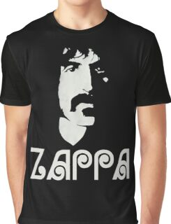Frank Zappa Silhouette Graphic T-Shirt