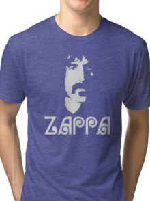 Frank Zappa Silhouette Tri-blend T-Shirt