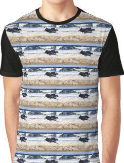 Foamy Ocean Graphic T-Shirt
